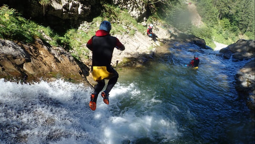 canyoning suisse