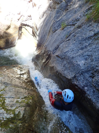 canyoning fribourg charmey